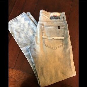 Buffalo David Britton acid washed jeans